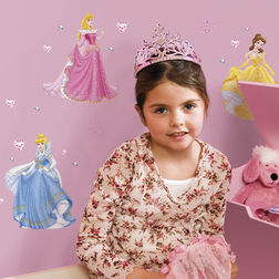 Wall Sticker For Kids Decofun Princess 43011