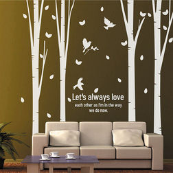 KakshyaaChitra Lets Always Love Wall Decal