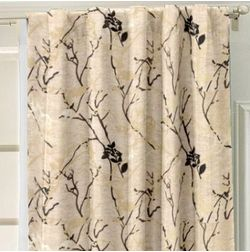 Antique Abstract Readymade Curtain - 9, beige, door