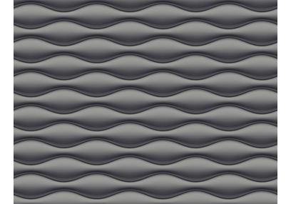 Elementto Wave Design Modern 3D Wallpaper for Walls - td31700, black