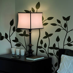 Wall Stickers Home Decor Line Black Branches - 57154
