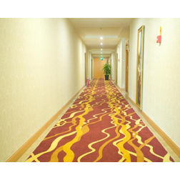 Floor Carpet and Rugs Hand Tufted AC Concept Abstract Red Carpets Online - CRD-53-L, 3ftx5ft, red