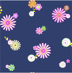 Elementto Wall papers Floral Design Home Wallpaper For Walls, black