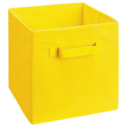 Storage Cube Box,  yellow cube