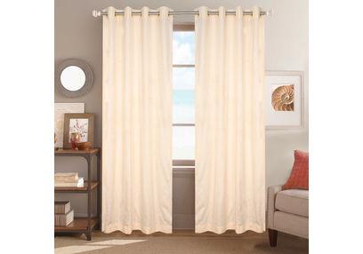 Dreamscape Poly Cotton Geometric, beige, door