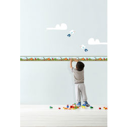Wall Stickers For Kids Decofun Camp Side Border - 42247