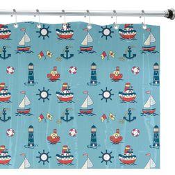 Shower Curtain, sky blue