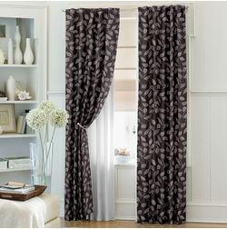 Ramkhao Floral Readymade Curtain - 55, door, purple