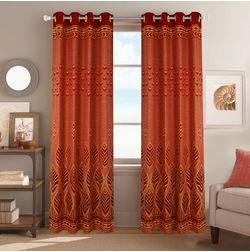 Dreamscape Poly Cotton Floral, maroon, door