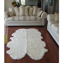 Floor Carpet and Rugs Hand Tufted AC ConceptAbstract White Carpets Online - SC-73-L, 3ftx5ft, white