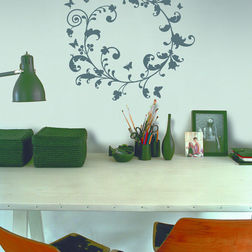 Wall Stickers Feel At Home Flower Swirl - 39061