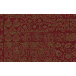 Elementto Wallpapers Floral Design Home Wallpaper For Walls, maroon
