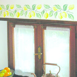 Wall Stickers Home Decor Line Lemons - 85011