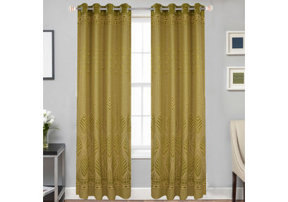 Dreamscape Poly Cotton Floral, green, door