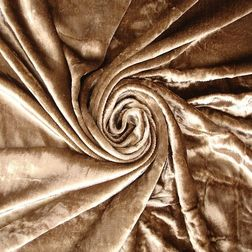 Softy Solid Curtain Fabric - SJ807, brown, fabric