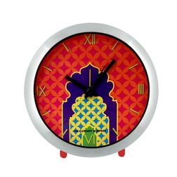 The Elephant Company Steel GREEN CHAKRA Home Wall Clocks, yellow