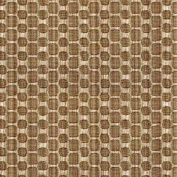 Constellation Geometric Curtain Fabric - ZT104, brown, fabric