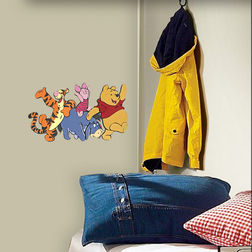 Kids Wall Sticker Decofun Pooh & Friends Foam Decor - 23523