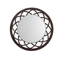 Aasra Decor Anise Mirror Decor Wall Mirror, brown