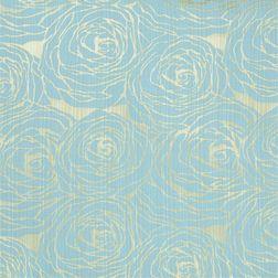 Constellation Floral Curtain Fabric - CSMI108, blue, fabric