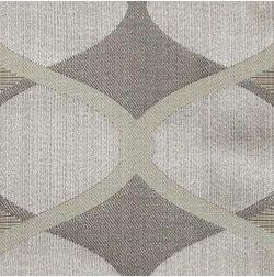 Zoya Geometric Curtain Fabric - 703, sample, grey