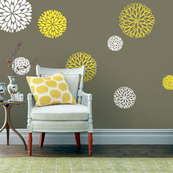Wall Stickers WallDesign Floral Patterns