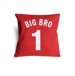 Big Bro Cushion Cover MYC-83, pack of 1, red