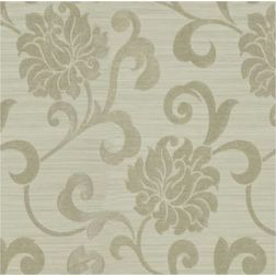 Rangshri Floral Curtain Fabric - 17, grey, fabric