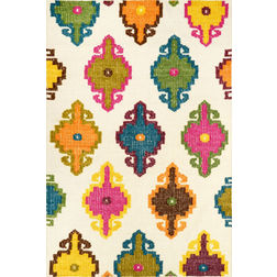 Floor Carpet and Rugs Hand Tufted, The Rug Concept Multi Carpets Online Tbilisi 6001-L, multi, 3ft x 5ft