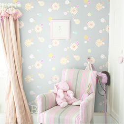 Elementto Wall papers Floral Design Home Wallpaper For Walls, grey, gs 63500 grey
