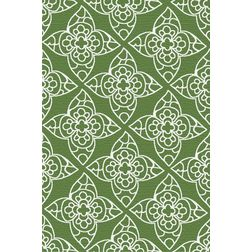 Floor Carpet and Rugs Hand Tufted, AC Concept Floral Green Carpets Online - ACR (15) -L, 3ftx5ft, green