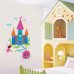 Wall Sticker For Kids TC Fairy Castle DP60025