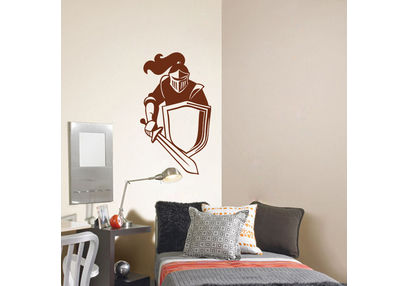 Kakshyaachitra Knight At The War Kids Wall Stickers, 14 24 inches