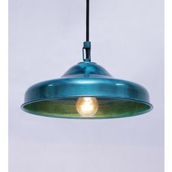 Aasra Decor Green Bucket Pendant Lamp Lighting Ceiling, green