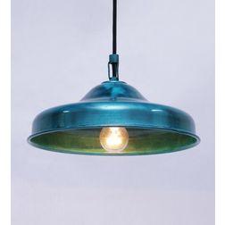 Aasra Decor Green Bucket Pendant Lamp Lighting Ceiling, green