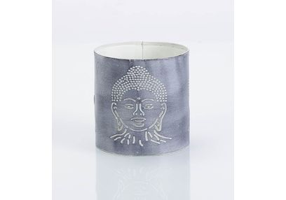 Aasra Decor Budha Candle Votive DecorVotives, white