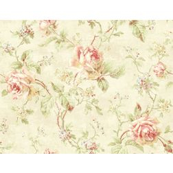Elementto Wallpapers Floral Design Home Wallpaper For Walls ew70100-1, ivory