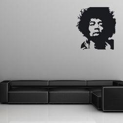 Wall Stickers WallDesign Jimmi Hendrix