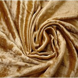 Shiva Solid Curtain Fabric - SJ714, gold, fabric