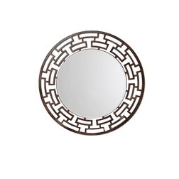 Aasra Decor ChainLink Mirror Decor Wall Mirror, brown