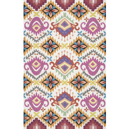 Floor Carpet and Rugs Hand Tufted, The Rug Concept Multi Carpets Online Tbilisi 6029-L, multi, 3ft x 5ft