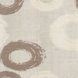 Passion Geometric Curtain Fabric - 10, sample, grey