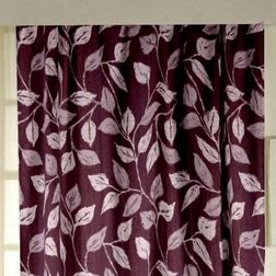 Ramkhao Floral Readymade Curtain - 1, window, purple