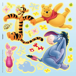 Wall Stickers For Kids Decofun Winnie The Pooh 70521