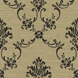 Elementto Wall papers Floral Design Home Wallpaper For Walls, gold