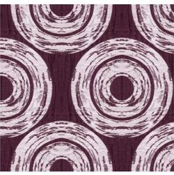 Ramkhao Geometric Readymade Curtain - 5, purple, window