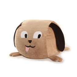 Dog Bean Bag Brown Cover - BB11, brown