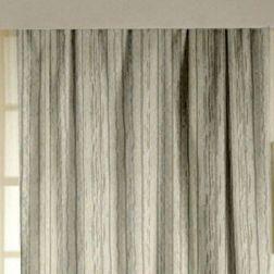 Lusture Stripes Readymade Curtain - 105, door, grey