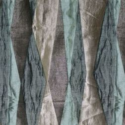 Astro Abstract Curtain Fabric - 20, grey, sample