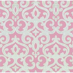 Rangshri Classic Curtain Fabric - 40, pink, fabric